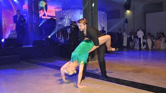 Anna Polívková se svým milencem a tanečníkem v jednom Michalem Kurtišem