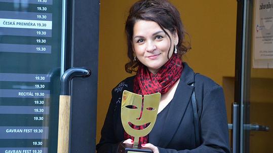 Magda Malá dostala cenu.