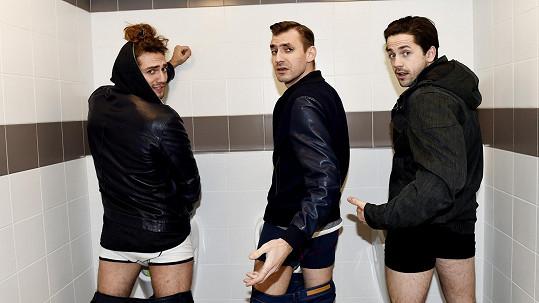 Křest pražských veřejných záchodků obstarali muzikanti.