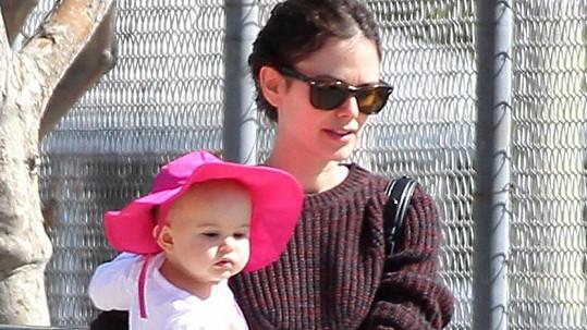 Herečka Rachel Bilson s dcerkou Briar Rose