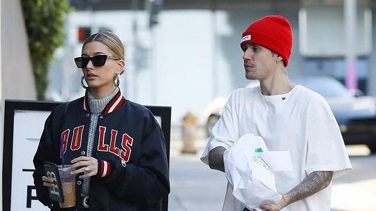 Justin Bieber a Hailey Baldwin