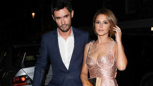Cheryl Fernandez-Versini s manželem Jeanem-Bernardem