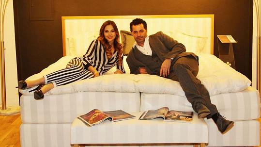 Martin Dejdar a Monika Bagárová skončili v jedné posteli.