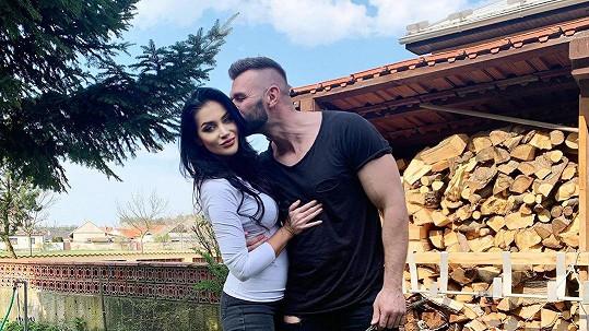 Andrea Pomeje s partnerem Petrem Plačkem