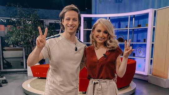 Milan Peroutka a Nikola Čechová