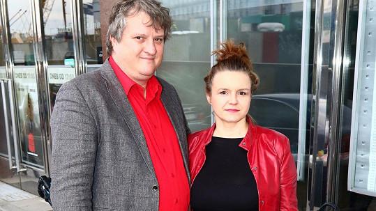 Halka Třešňáková a Tomáš Jeřábek jsou pyšnými rodiči syna Tea.