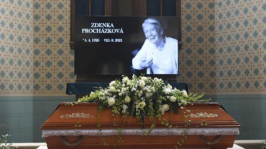 Poslední rozlooučení se Zdenkou Procházkovou