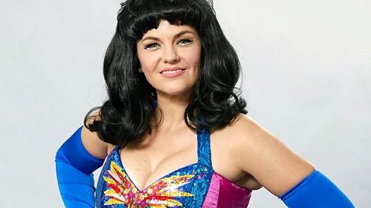 Marta Jandová jako Katy Perry