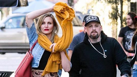 Cameron Diaz s manželem Benjim Maddenem
