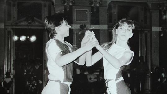 Tanhle taneční pár vyhrál mistrovství Československa v disko tancích