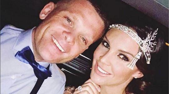 Danielle Lloyd čeká dítě se snoubencem Michaelem O'Neillem.