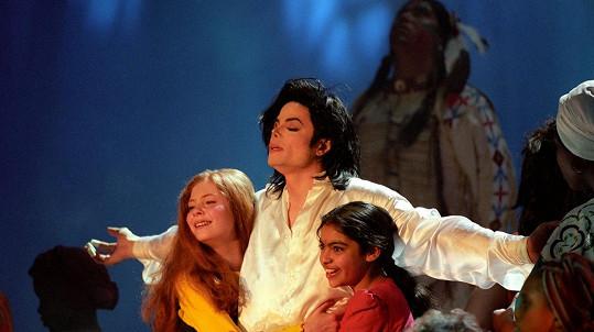 Michael Jackson s dětmi, které měl vždy rád nablízku.