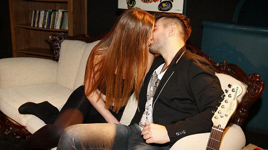 Marek Ztracený natáčel klip se šťastnou fanynkou.