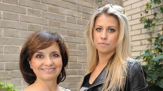 Veronika Freimanová s dcerou Terezou Brabcovou.