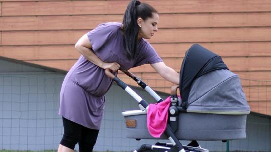 Laďka Něrgešová se rozpovídala o svém druhém porodu.