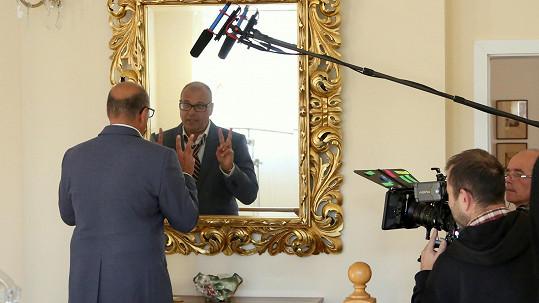 Petr Rychlý natáčí svůj první film