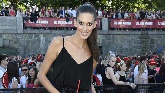 Aneta Vignerová má dole pět kilo