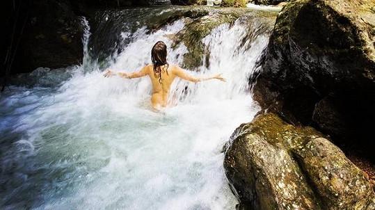 Helena Houdová je přírodní žena se vším všudy...