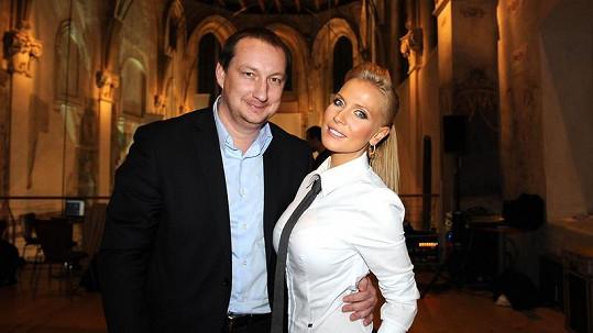 Míša s přítelem Michalem.