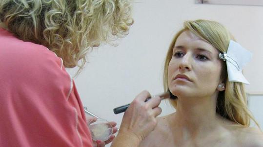 Lenka Špilarová z VIP zpráv bez make-upu