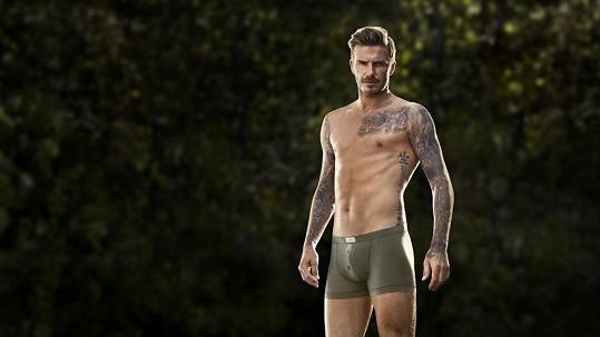 David Beckham pro H&M.
