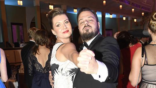 Xindl X s manželkou