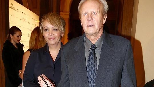 Petra Martincová a Jaroslav Soukup tvoří už deset let manželský pár.