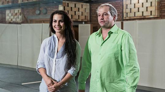 Marek Taclík se svou taneční partnerkou Martinou Markovou