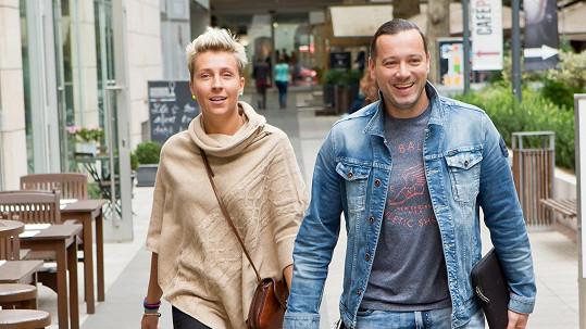 Michal s přítelkyní Zuzanou