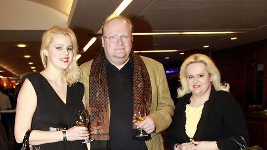 Ornella Štiková s rodiči