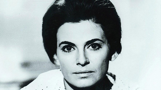 Milena Dvorská na archivním snímku