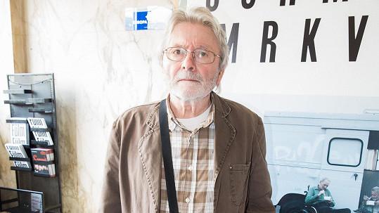 Ladislav Mrkvička se po dlouhé pauze opět objevuje ve společnosti.