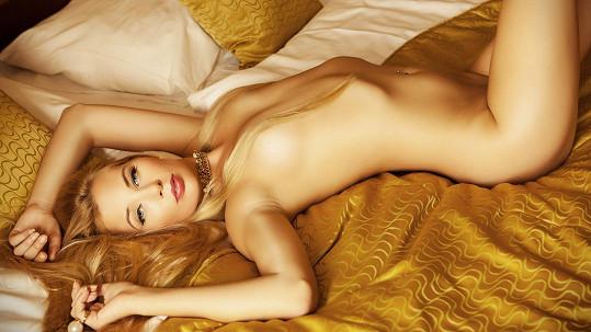 Linda Bernátová v rouše Evině. Líbí se vám?
