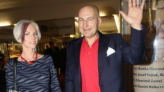Lou Fanánek Hagen s manželkou