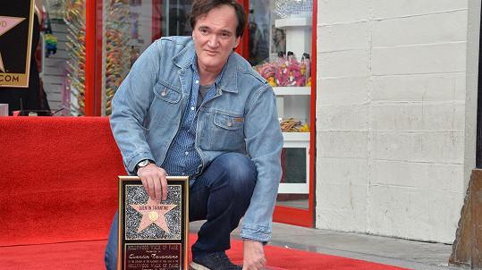 Quentin Tarantino má svou hvězdu slávy v Hollywoodu.