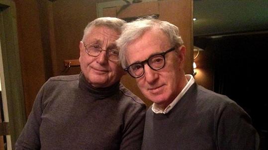 Jiří Menzel a Woody Allen.