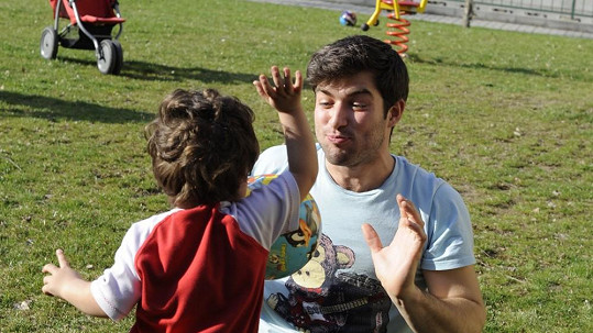 Štefan Pčelár se vrátil do dětských let.