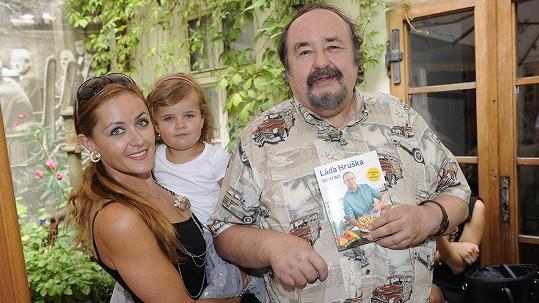 Pro Petra Novotného je nejlepším lékem rodina.