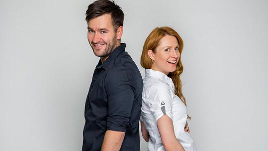Marek Ztracený a Romana Pavelková