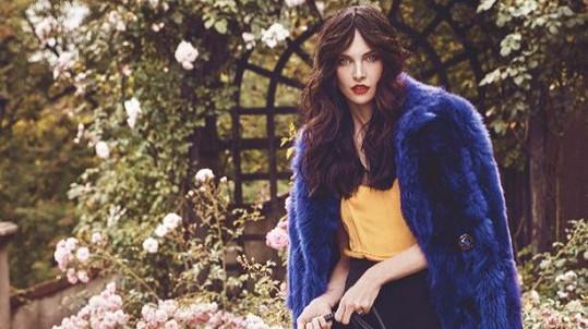 Krásná Iva zpátky v roli modelky