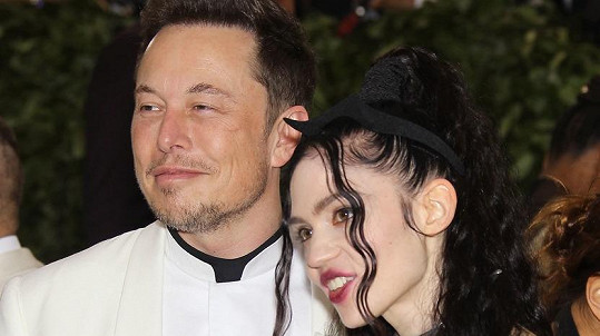 Elon Musk s partnerkou Grimes