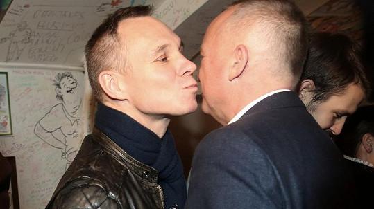 Karel Voříšek s partnerem Vladimírem