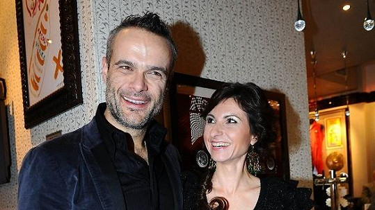 Jaro Slávik s manželkou.
