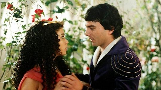 Šafránková si s Trávníčkem zahrála naposledy v Třetím princi (1982).