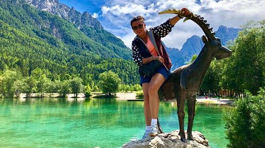 Morávková si užívá aktuálně ve Slovinsku.