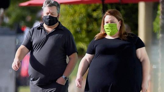 Chrissy Metz s partnerem Bradleym Collinsem