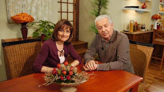 Přemek Podlaha s Kateřinou Duškovou