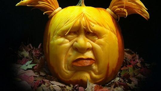 Krásná halloweenská díla.