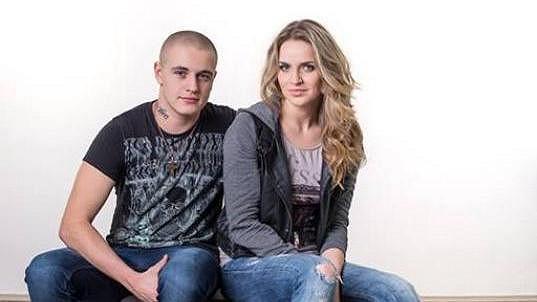 Gábina Gunčíková s bratrem Honzou