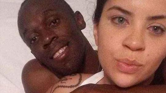 Usain Bolt a Jady Duarte